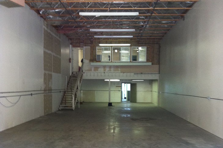 Before commercial remodel